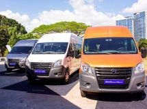 Sales of GAZelle Next minibuses started in the Philippines