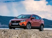 LADA Vesta SW Cross is more popular LADA Vesta SW