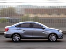 Sedan LADA Vesta received new options