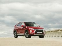 There were announced ruble prices for Mitsubishi Eclipse Cross