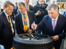 The Kaluga plant Continental produced the 10-millionth tire