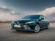The new Toyota Camry went on sale in Russia
