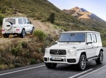 Mercedes-Benz G-Class caused a stir in Russia two months before the start of sales