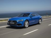The new Audi A7 Sportback is available for order in Russia