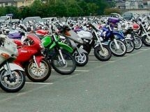TOP-10 of regions of the Russian Federation with the largest number of motorcycles