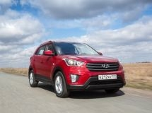 Hyundai Creta – is the leader of the market SUV in the cities with a population over a million
