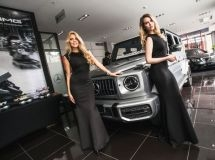 In Russia, it is presented the new Mercedes-Benz G-Class