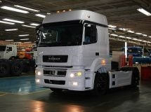 KAMAZ increased the production by 3% for 8 months of 2018
