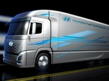 Hyundai presented the first image of a new electric truck