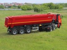 KAMAZ increased sales of dumping semi-trailers
