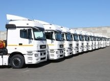 New truck market fell by 11% in Russia in September