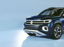 Volkswagen presented a new generation of pickup Tarok Concept