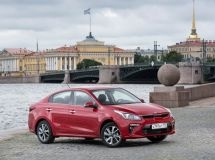 KIA Rio became the leader of the St. Petersburg car market for the first time this year