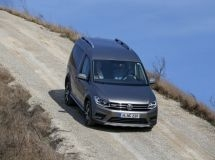 Volkswagen Caddy with Euro 6 engine is available for order in Russia