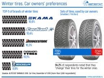 What winter tires do Russian car owners prefer?