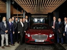 Bentley awarded the European best sales managers