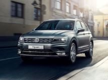 Volkswagen Tiguan ranked the second in the SUV market in Moscow and St. Petersburg in November