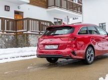 The new estate car KIA Ceed SW went on sale in Russia