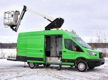 Ford Transit received a new version of special purpose in Russia