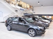 Russian car market grew by 1% in January