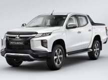 Mitsubishi revealed the characteristics of the updated pickup L200 for Russia