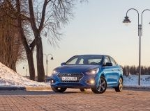 Hyundai Solaris is the leader of the car market of St. Petersburg in January