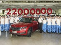 Skoda has produced the 22 millionth car