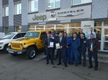 FCA Rus named the best Russian dealers