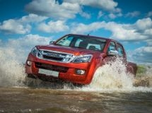 The updated Isuzu D-Max pickup comes to the Russian market