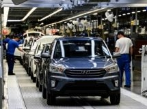 Half of foreign cars are produced at three car plants in Russia