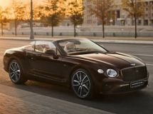 New Bentley Continental GT Convertible appeared in Russia