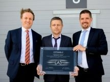In the Belgorod region it was opened a new freight dealer center Mercedes-Benz