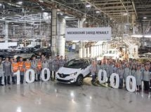 In Russia, it was released the 100 thousandth crossover Renault Kaptur
