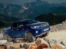 Toyota Hilux became the most popular pickup in Russia in May