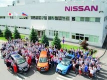 St. Petersburg Nissan factory produced 370 thousand cars for 10 years