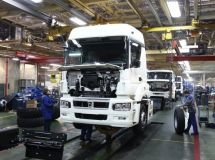 Over 70% of trucks are produced at three plants in Russia