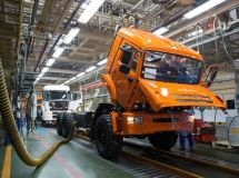 KAMAZ resumed the production after the summer holidays