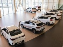 The growth of the market of new cars is fixed in a half of Russian regions