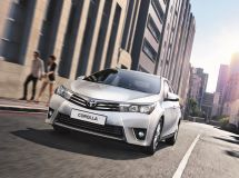 The new Toyota Corolla is available for order in Russia