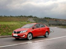 The lion's share of sales of KIA Rio is belonged to sedans