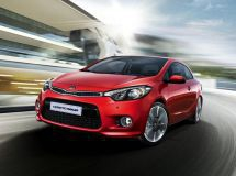 Russian prices of new KIA Cerato Koup car were announced