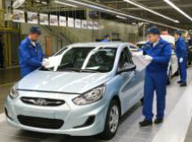 Russian Hyundai plant in the first quarter has increased production by 3%