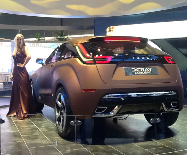Autostat Concept Car Lada Xray Cost 1 Million Dollars