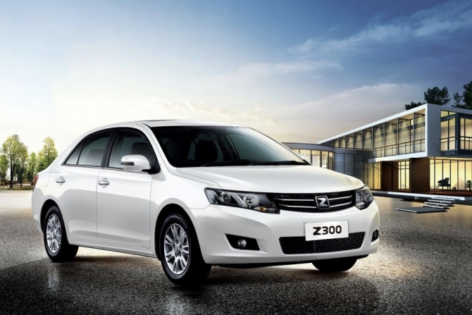 Autostat The New Sedan Zotye Z300 Is Launched In The Russian Market