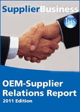 OEM-Supplier Relationship Report