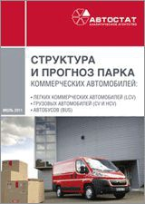 Structure and forecast of commercial vehicle parc in Russia till 2015