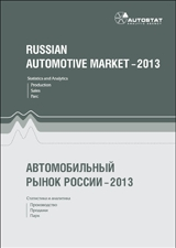 Automotive market of Russia - 2013