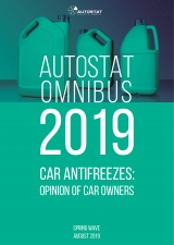 AUTOSTAT OMNIBUS-2019 CAR ANTIFREEZES: opinion of car owners (SPRING WAVE)