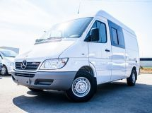 In Russia the production of cargo version of Mercedes-Benz Sprinter Classic Mixto began