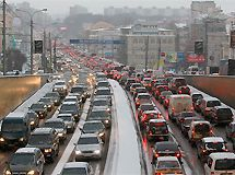 In the Moscow region – there are more than 7 million vehicles